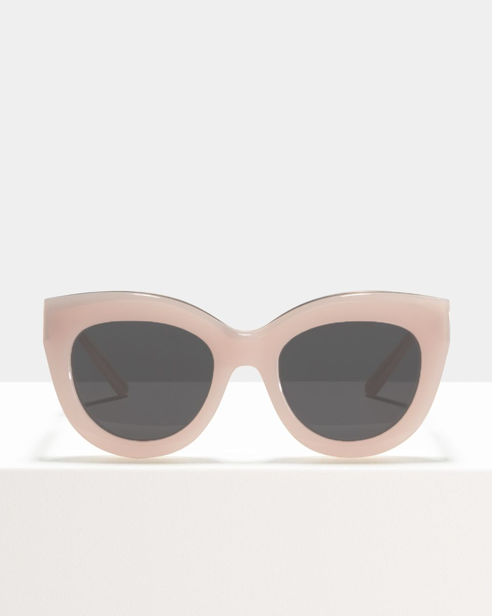 Vic Lux rund Acetat glasses in Pink Suede by Ace & Tate