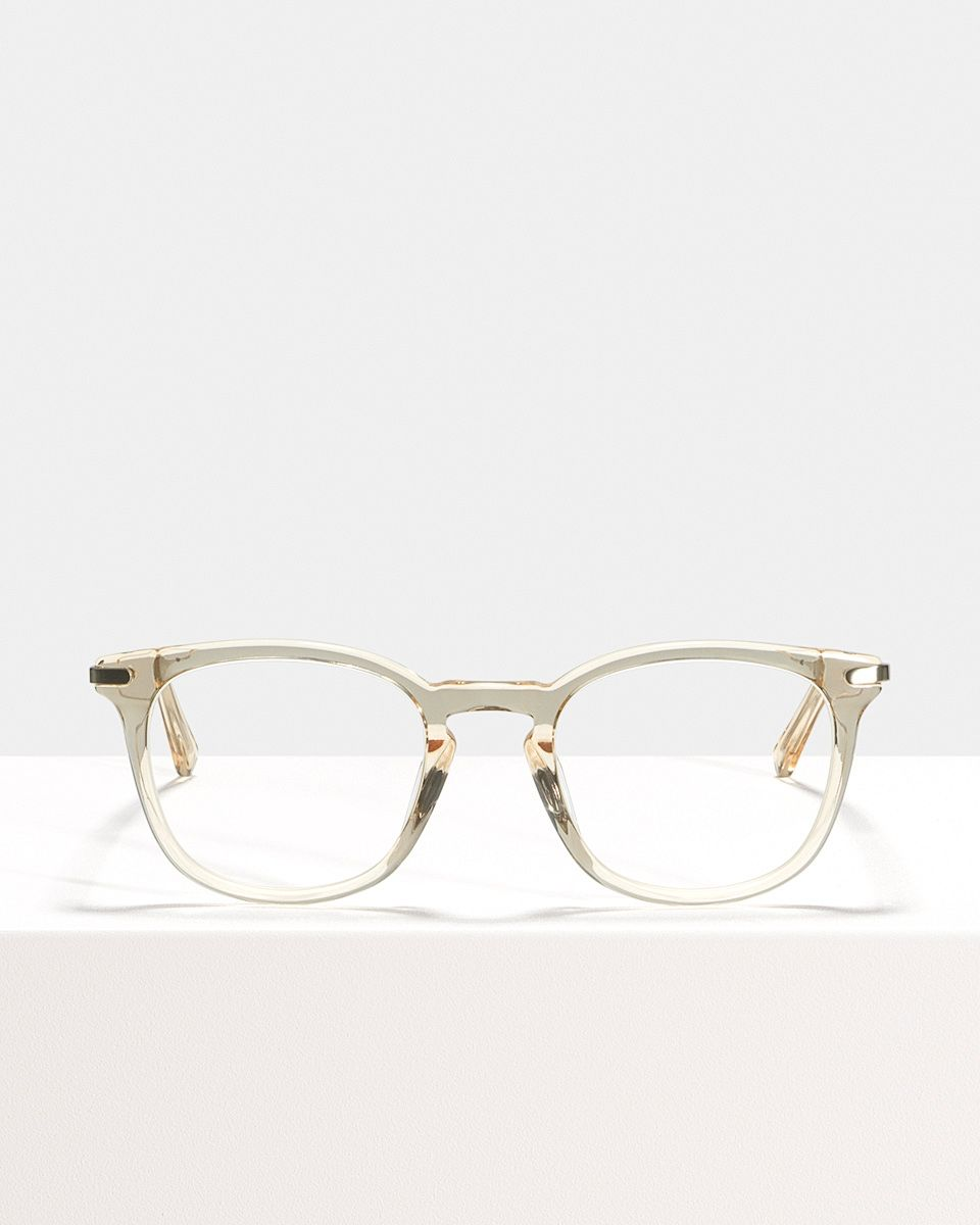 Dylan quadratisch Verbund glasses in Fizz by Ace & Tate