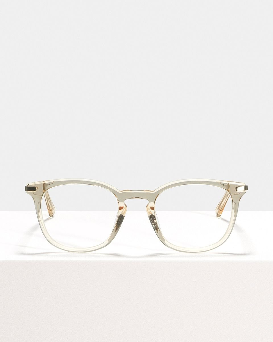 Dylan vierkant metal,combi glasses in Fizz by Ace & Tate