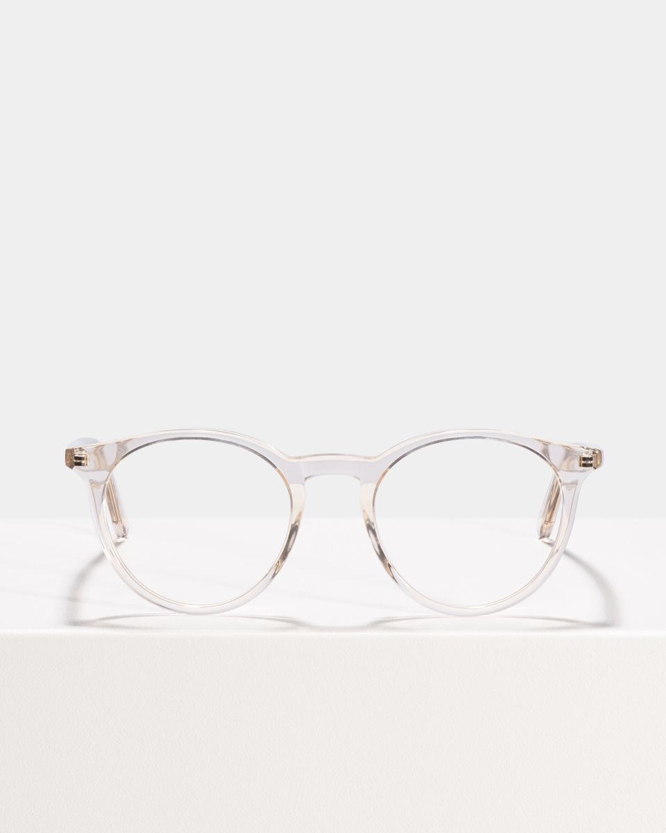 Easton ronde acétate glasses in Fizz by Ace & Tate