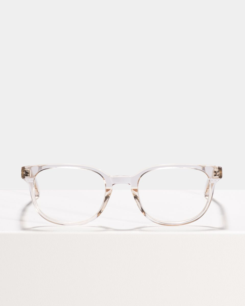 Finn rechthoek acetaat glasses in Fizz by Ace & Tate