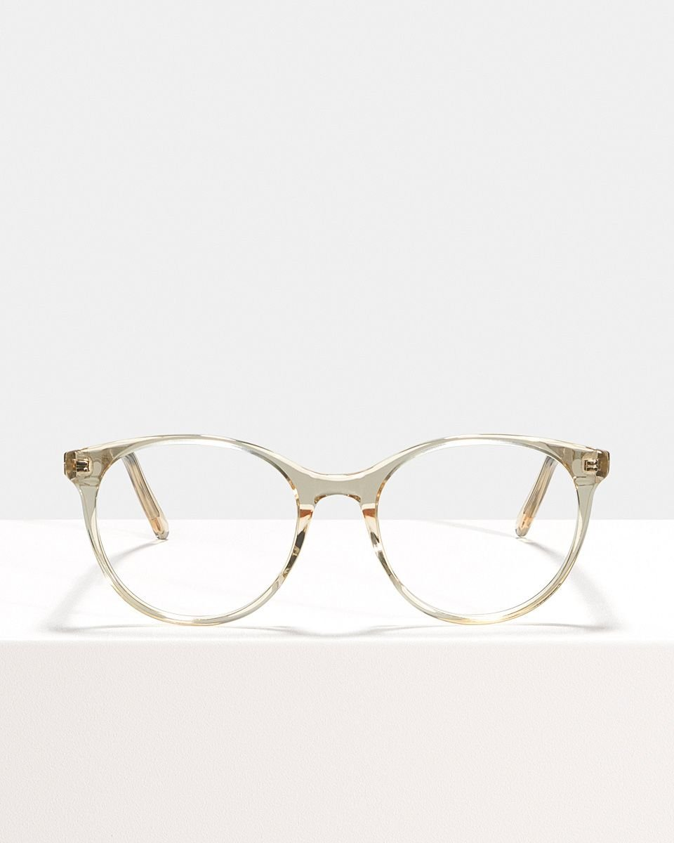 Lily rund Acetat glasses in Fizz by Ace & Tate