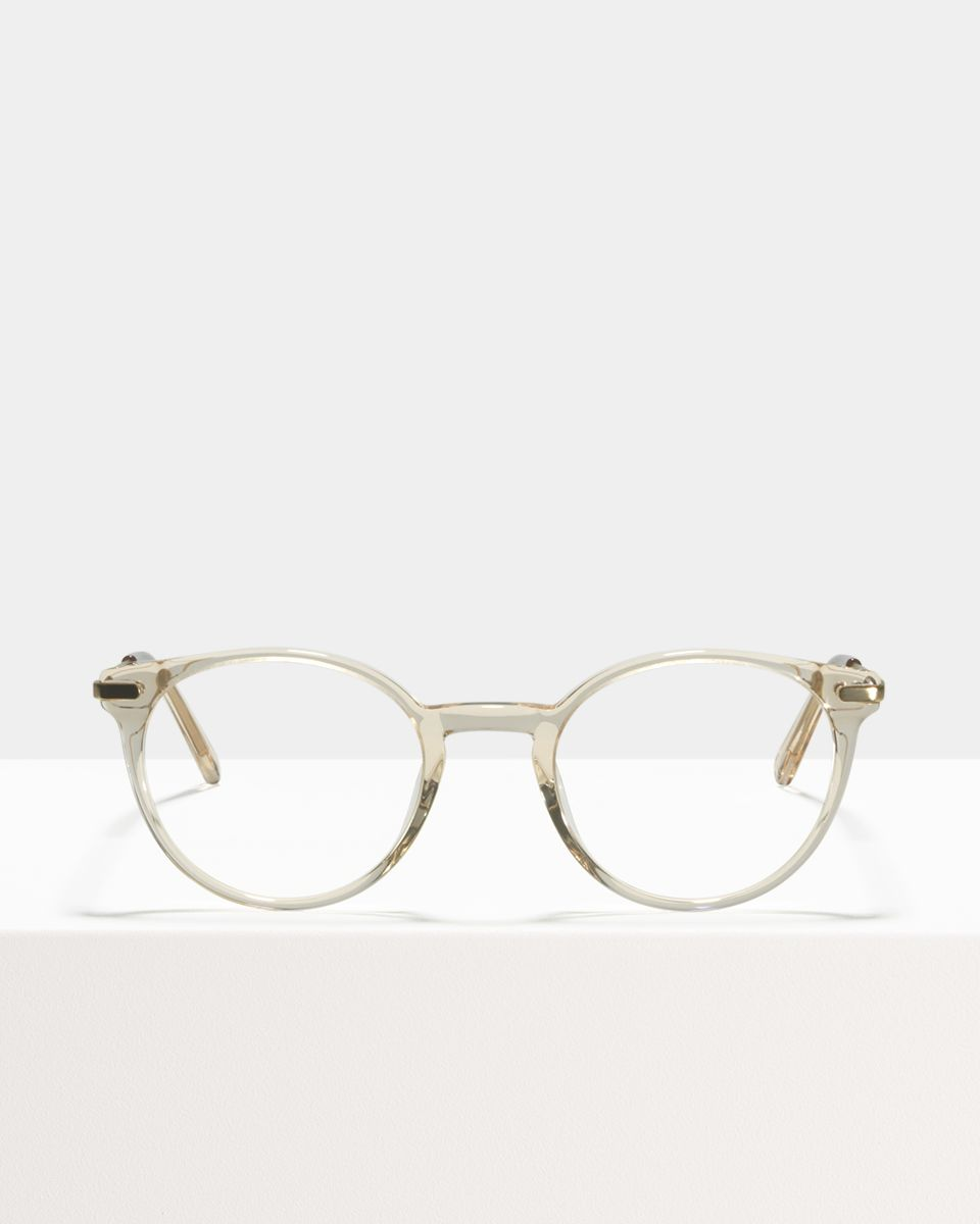 Morris round metal,combi glasses in Fizz by Ace & Tate