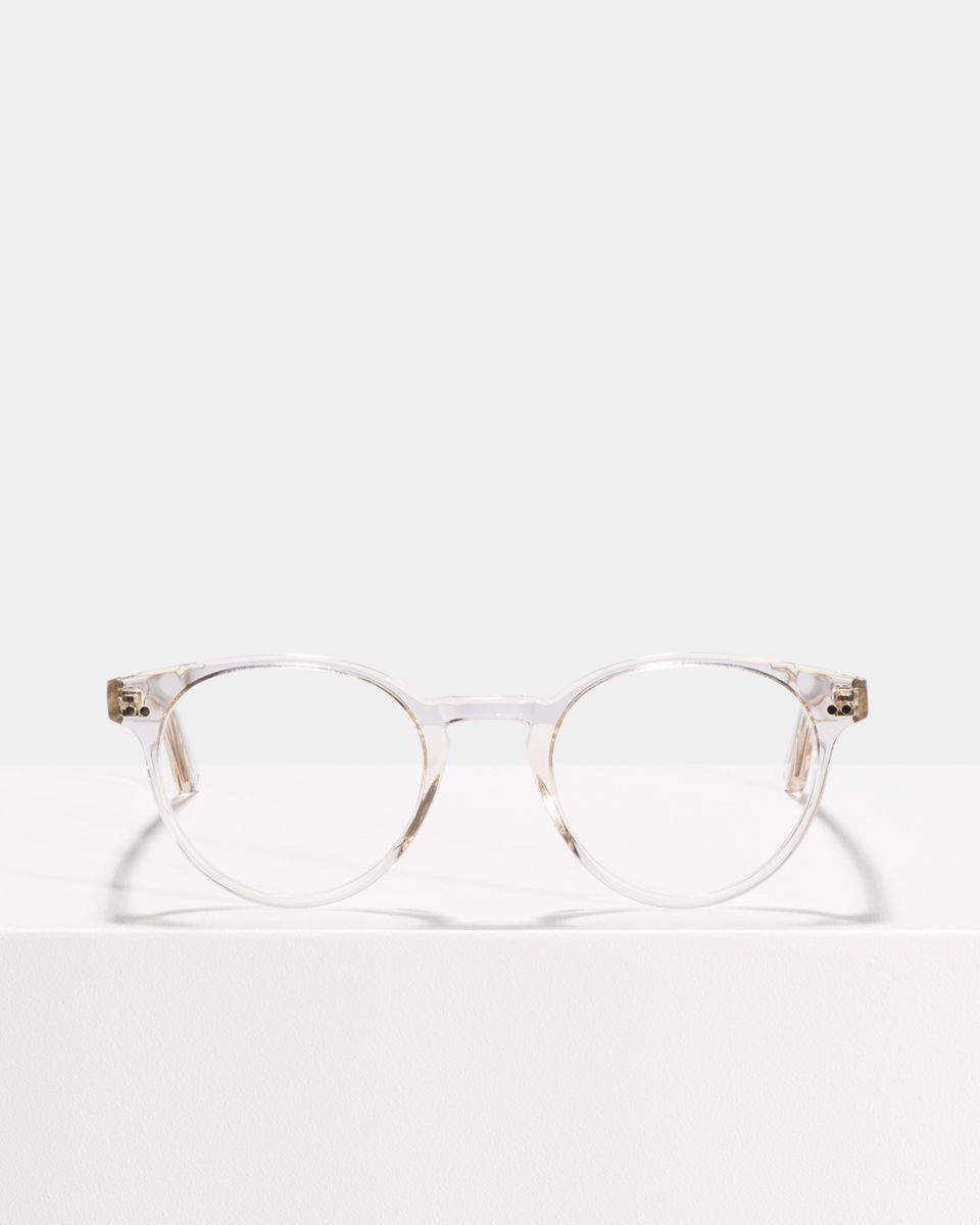 Pierce round acetate glasses in Fizz by Ace & Tate