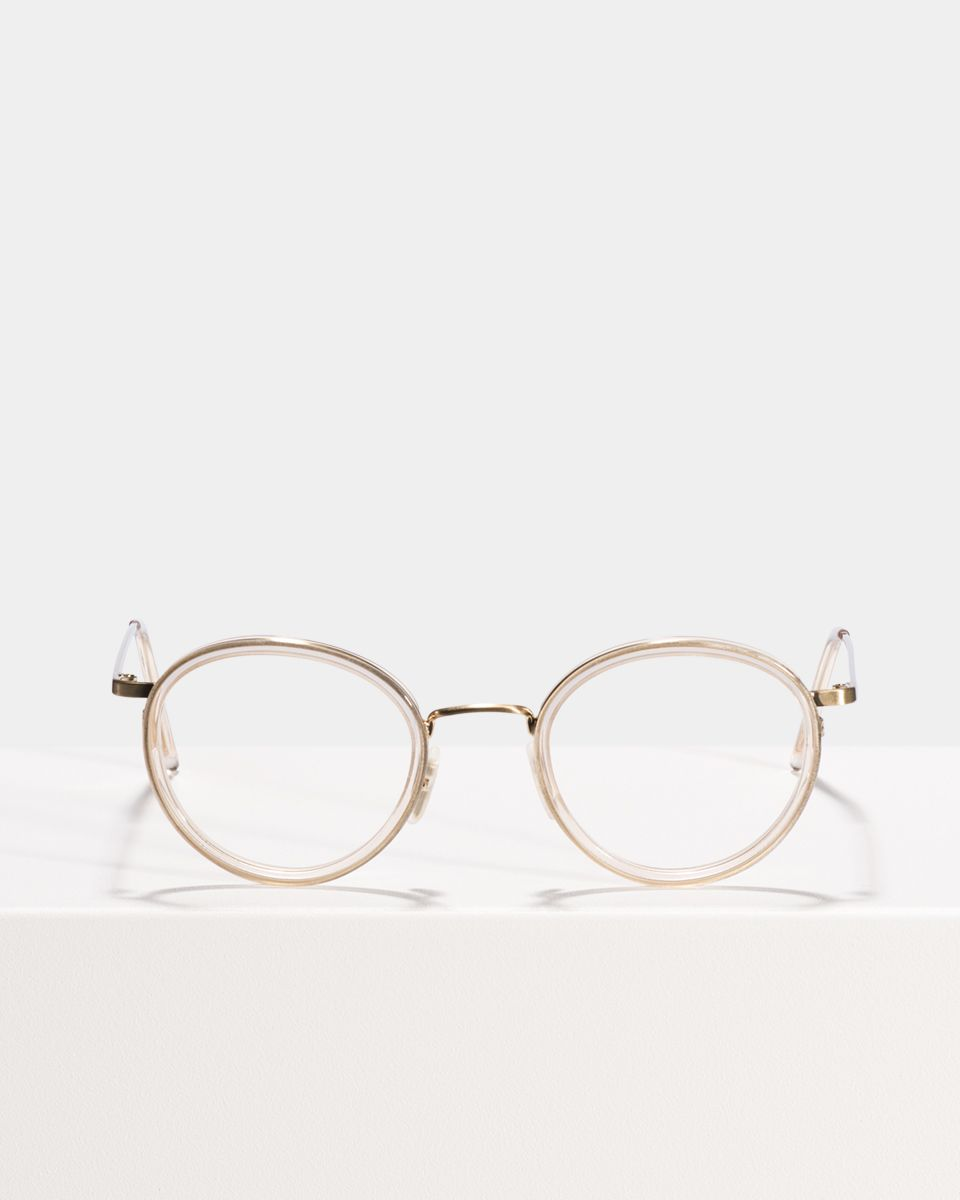 Tyler rond metal,combi glasses in Fizz by Ace & Tate