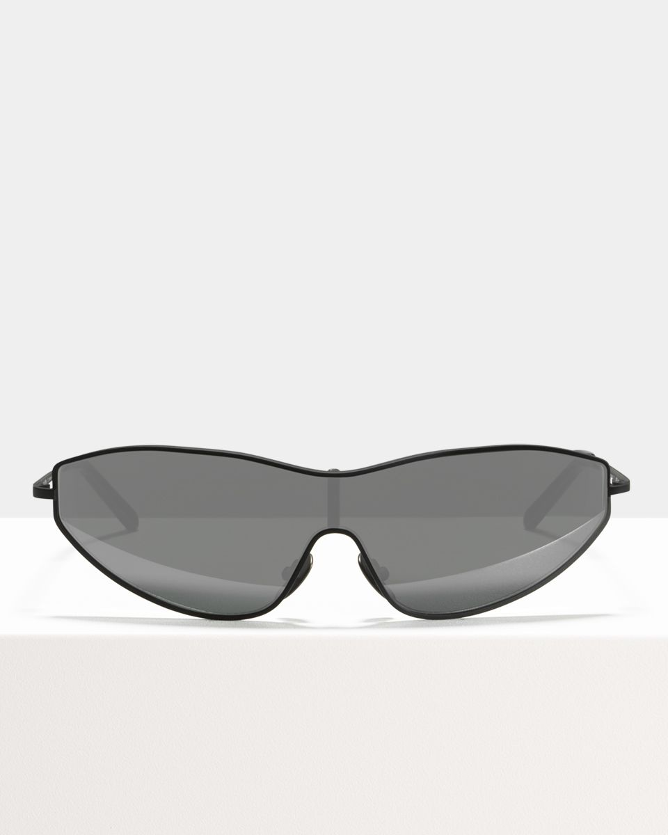 Flash other metaal glasses in Matte Black by Ace & Tate