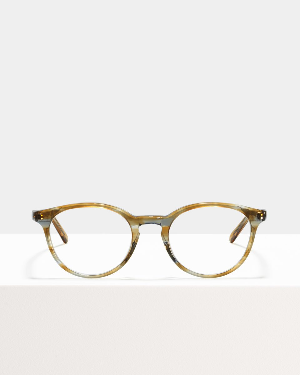Max round acetate glasses in Soft Breeze by Ace & Tate