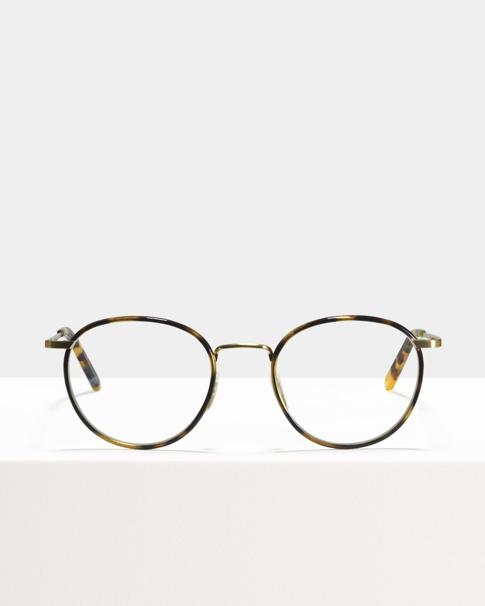 Neil Large round combi glasses in Bananas by Ace & Tate
