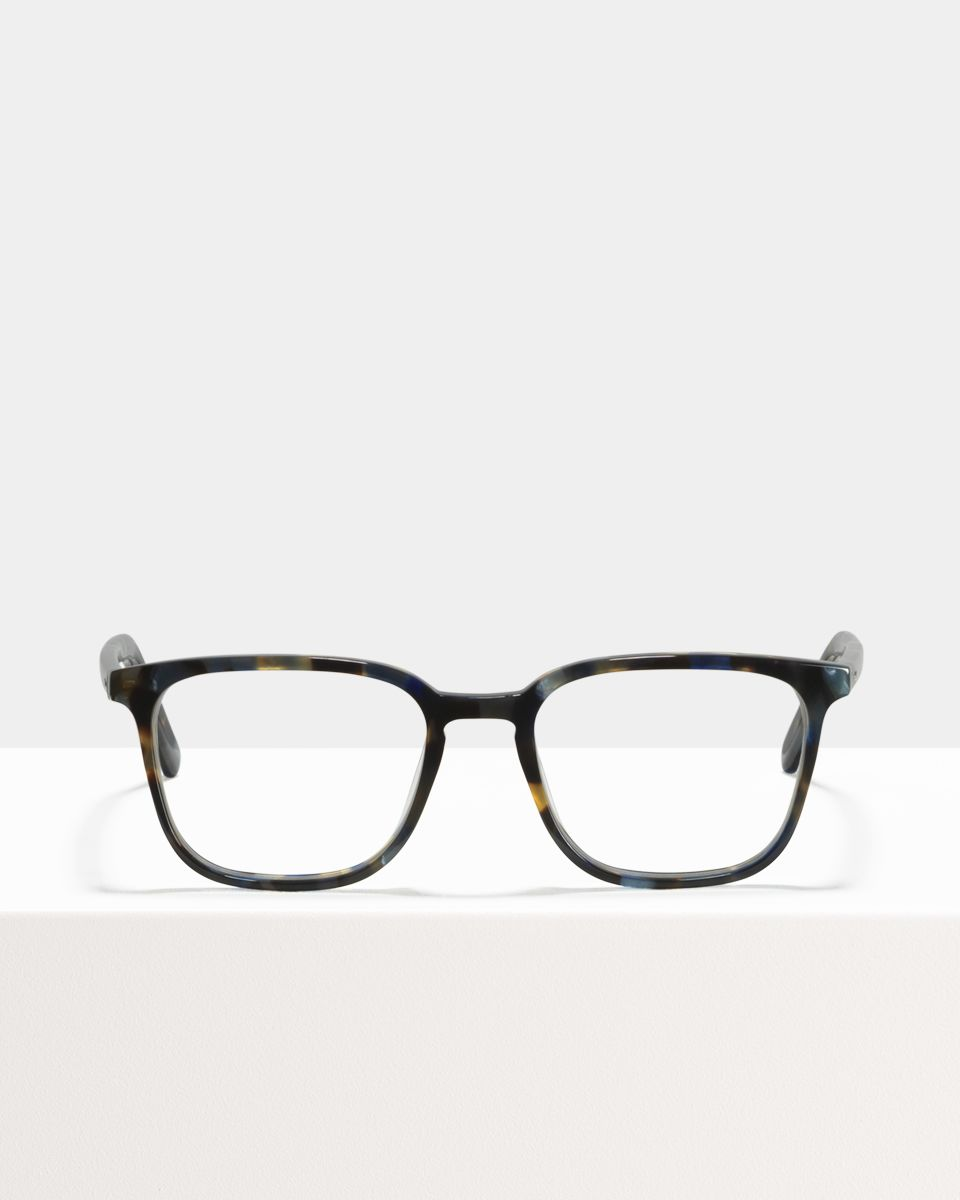 Nelson Small rechthoek acetaat glasses in Midnight by Ace & Tate
