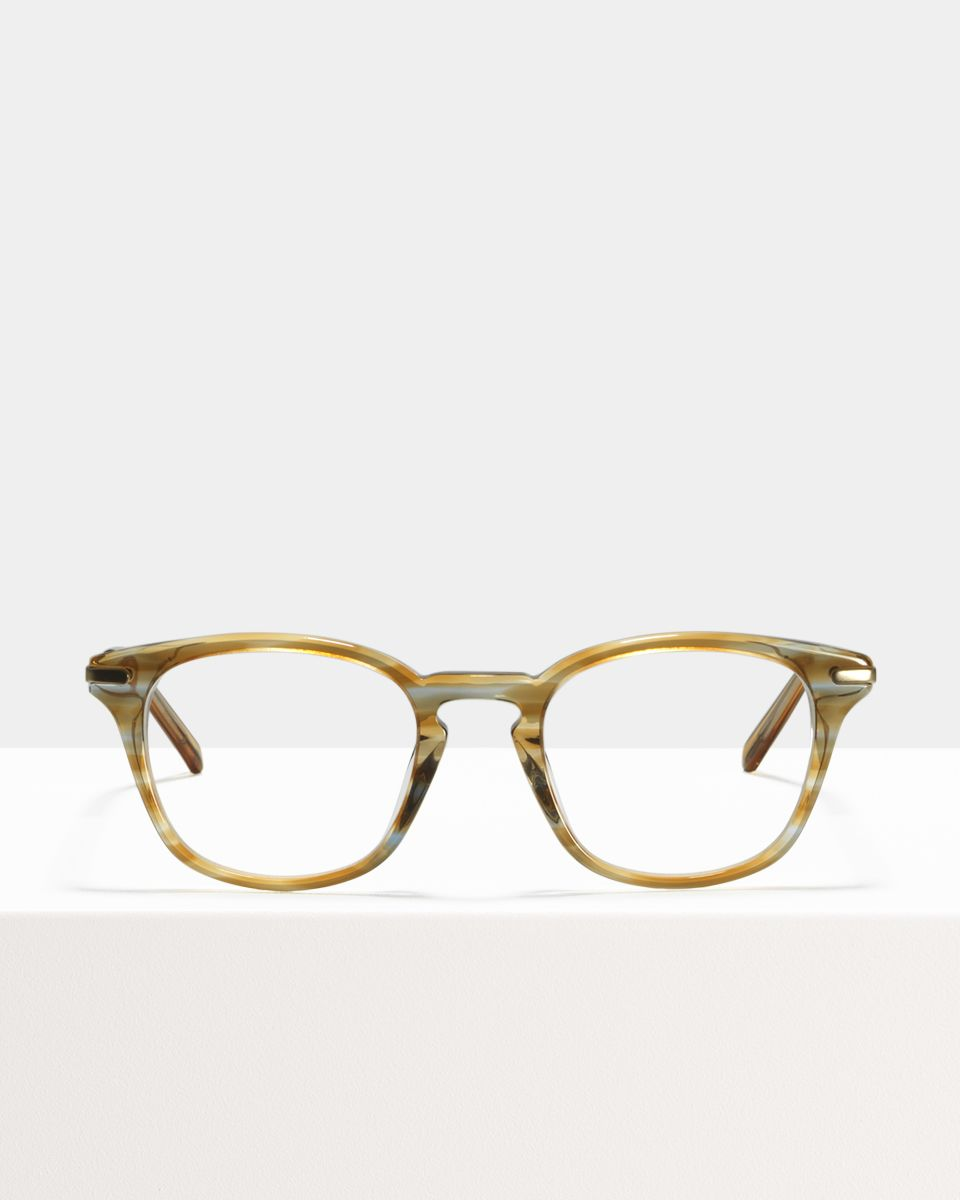 Dylan vierkant combi glasses in Soft Breeze by Ace & Tate