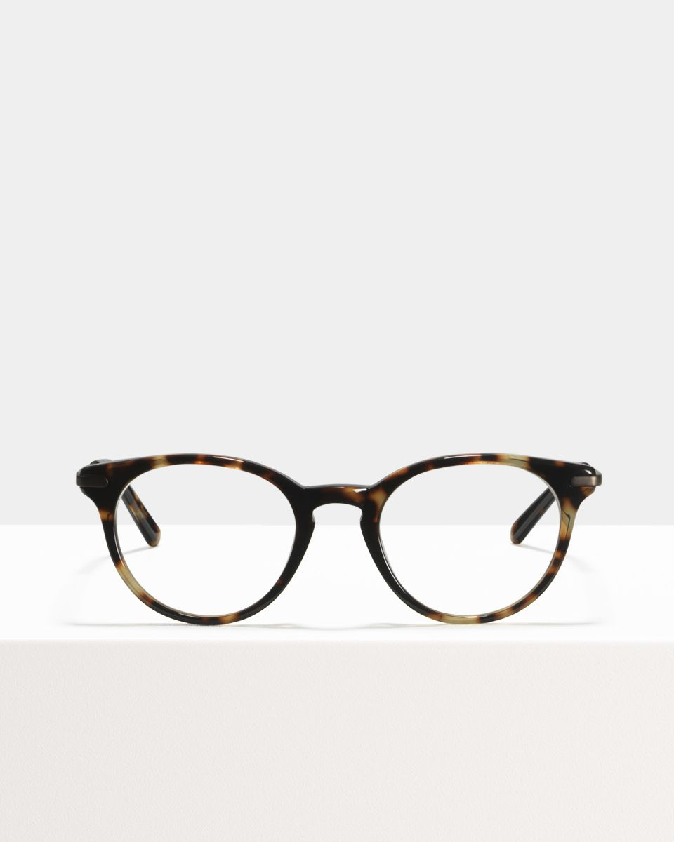 Max Metal Temple ronde combinaison glasses in Sugar Man by Ace & Tate