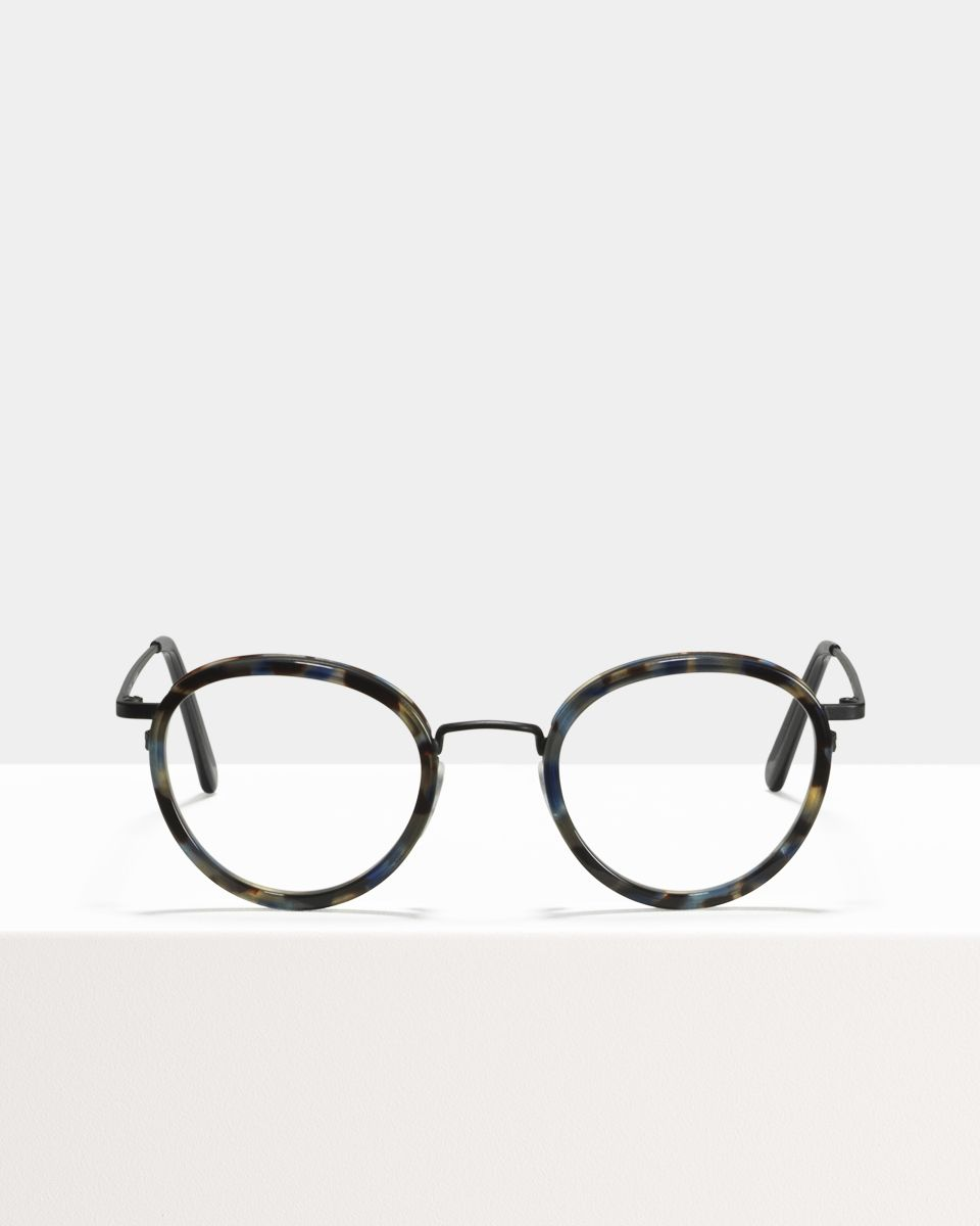 Tyler round combi glasses in Midnight by Ace & Tate