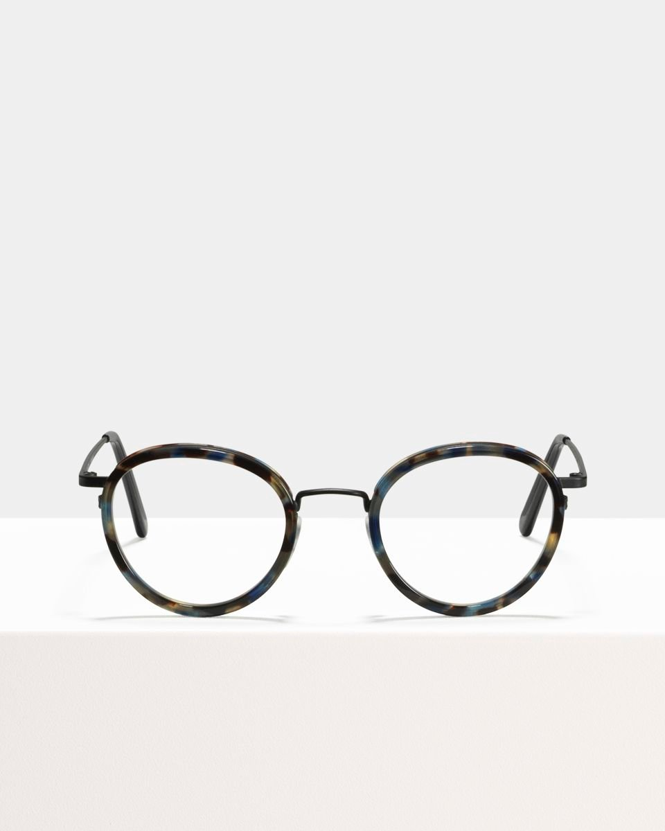 Tyler ronde combinaison glasses in Midnight by Ace & Tate