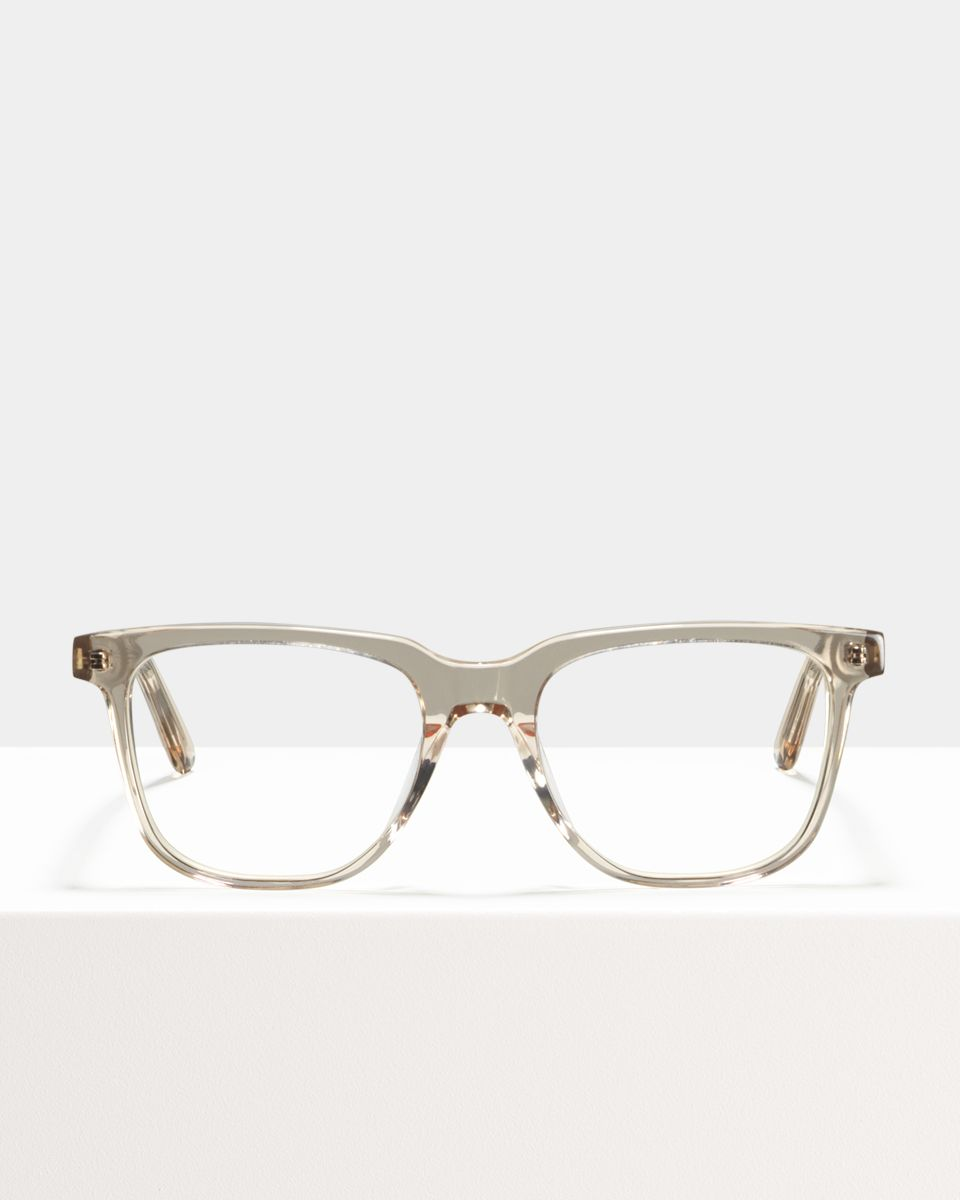Murray rechteckig Acetat glasses in Fizz by Ace & Tate