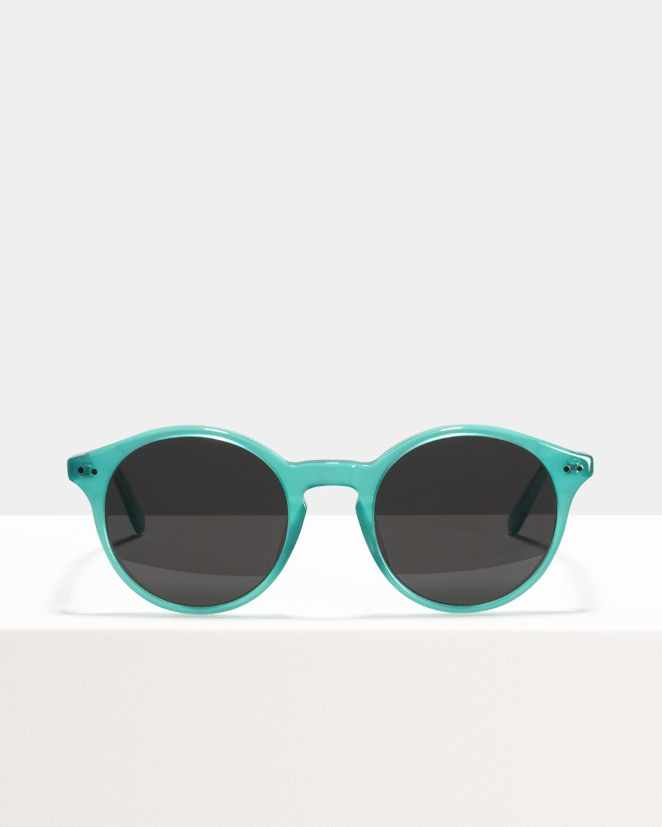 Monty rond acetaat glasses in Bora Bora by Ace & Tate