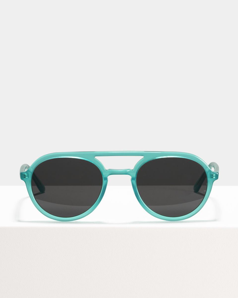 Paul round acetate glasses in Bora Bora by Ace & Tate