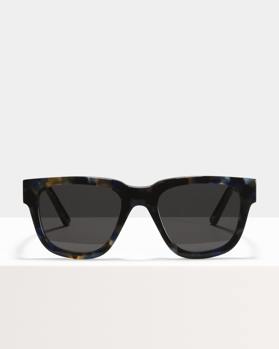 Harry ronde acétate glasses in Midnight by Ace & Tate