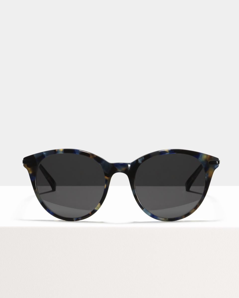 Liz ronde combinaison glasses in Midnight by Ace & Tate