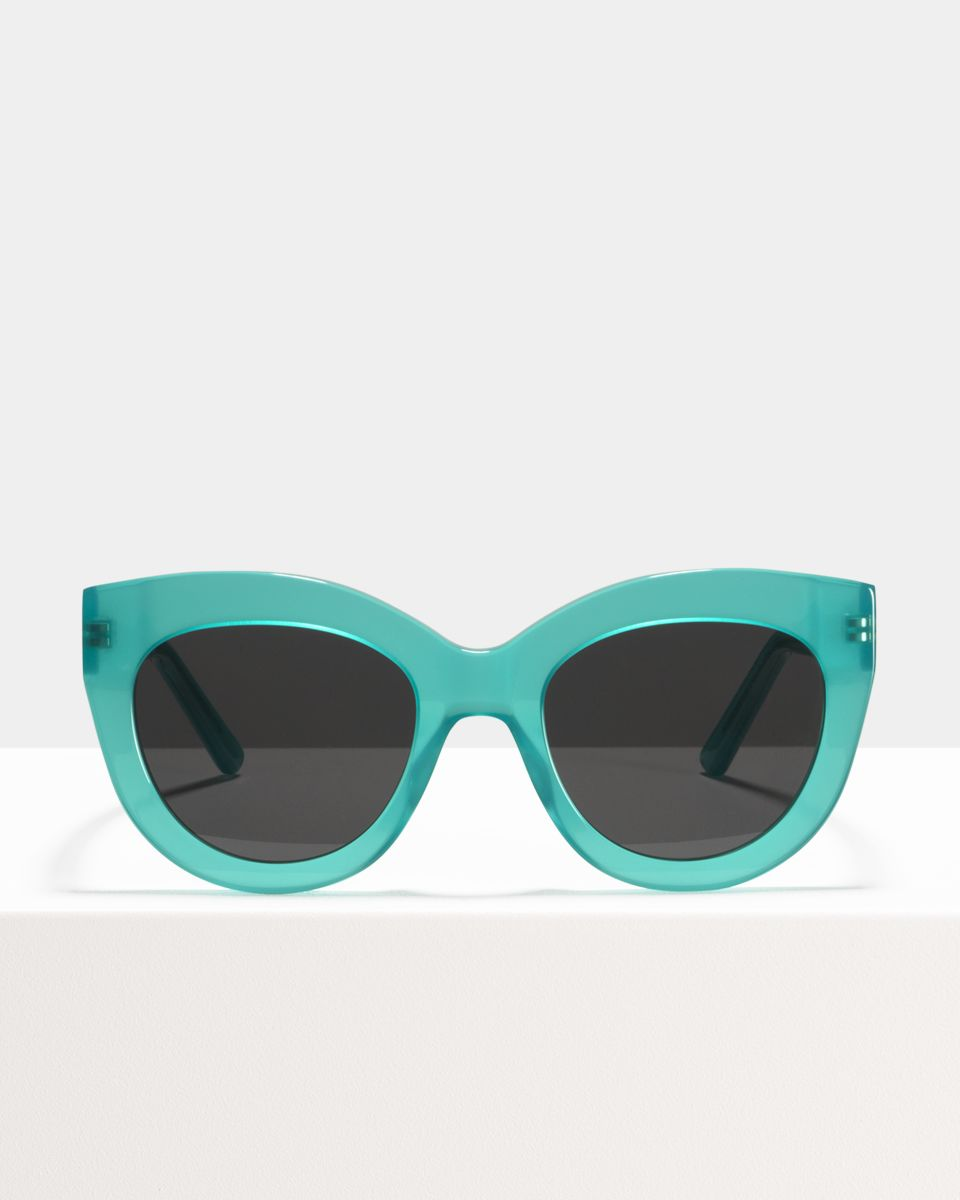 Vic rond acetaat glasses in Bora Bora by Ace & Tate