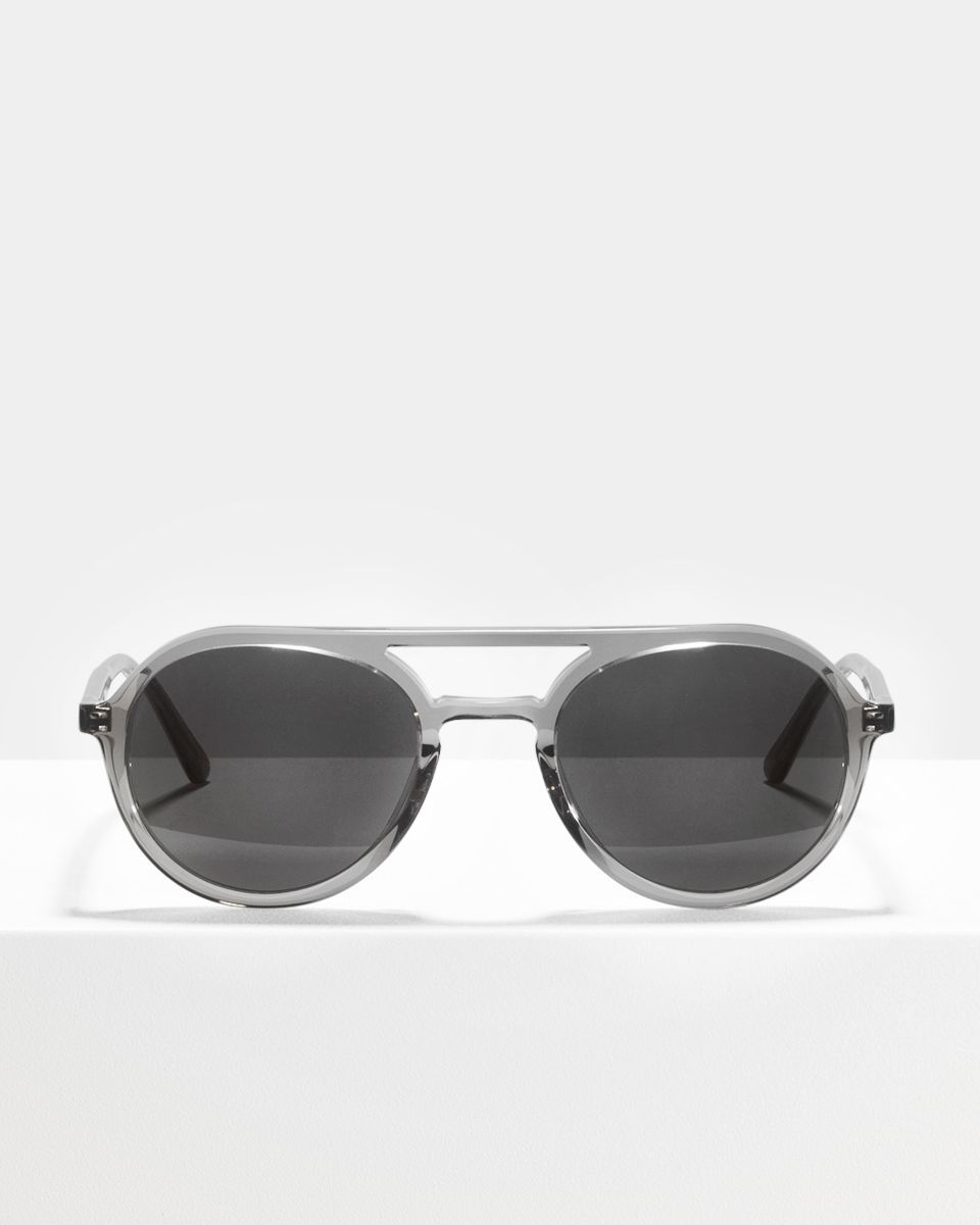 Paul rond acetaat glasses in Smoke by Ace & Tate