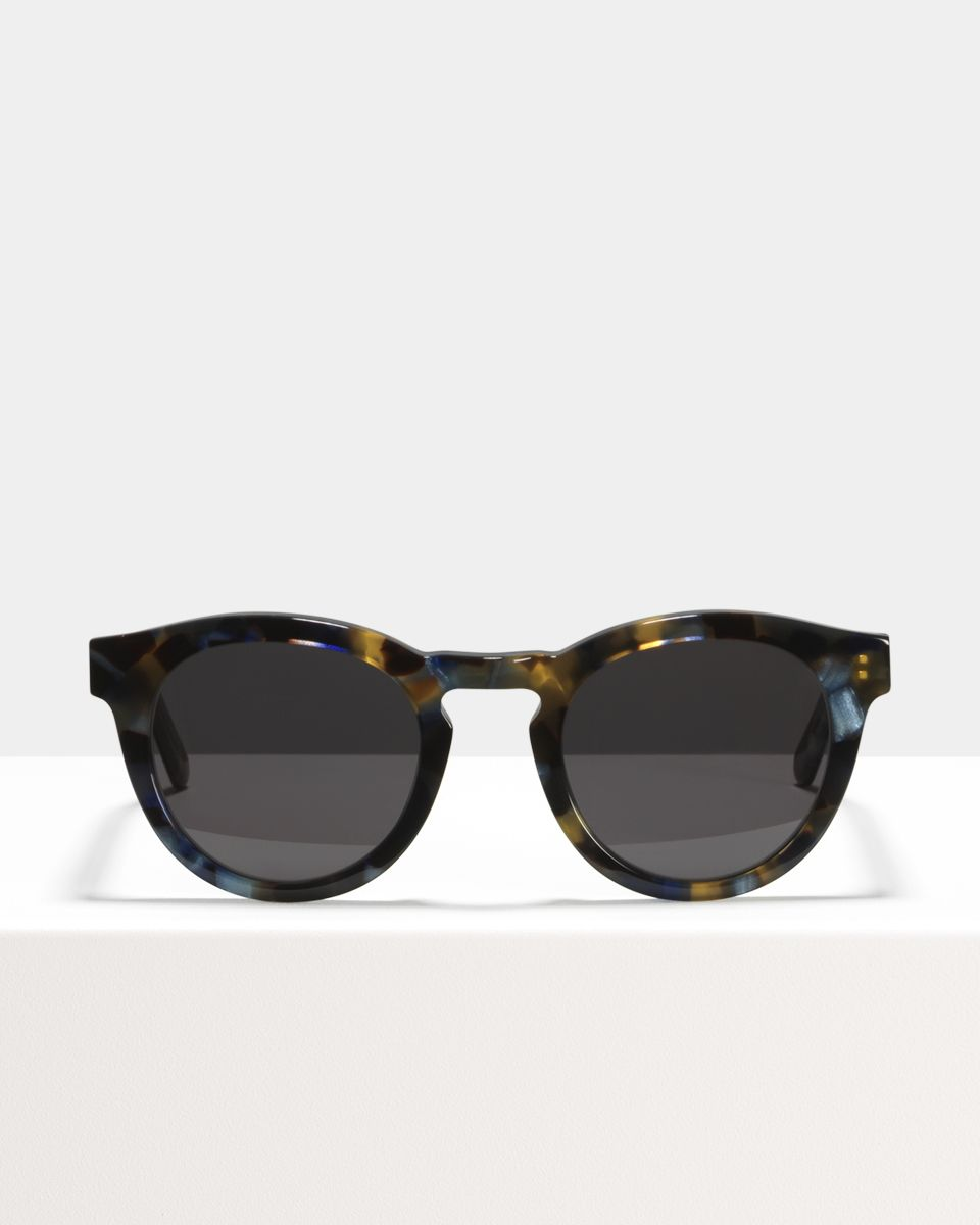 Byron square acetate glasses in Midnight by Ace & Tate