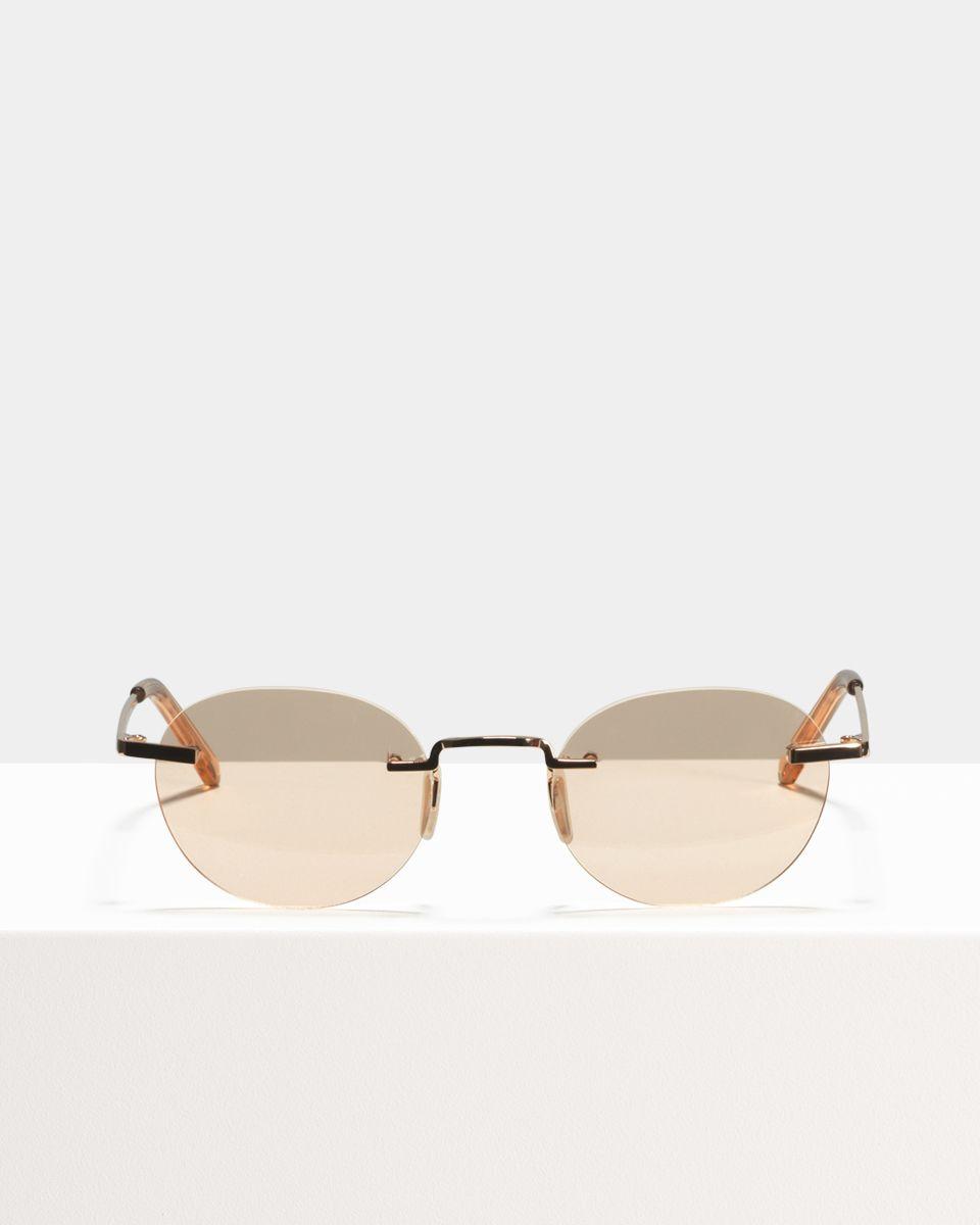 Ace & Tate Sunglasses |  titanium in Oranje