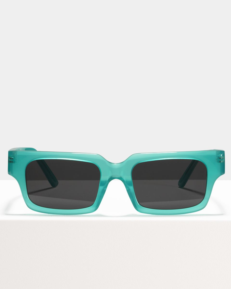 Henri rectangle acetate glasses in Bora Bora by Ace & Tate
