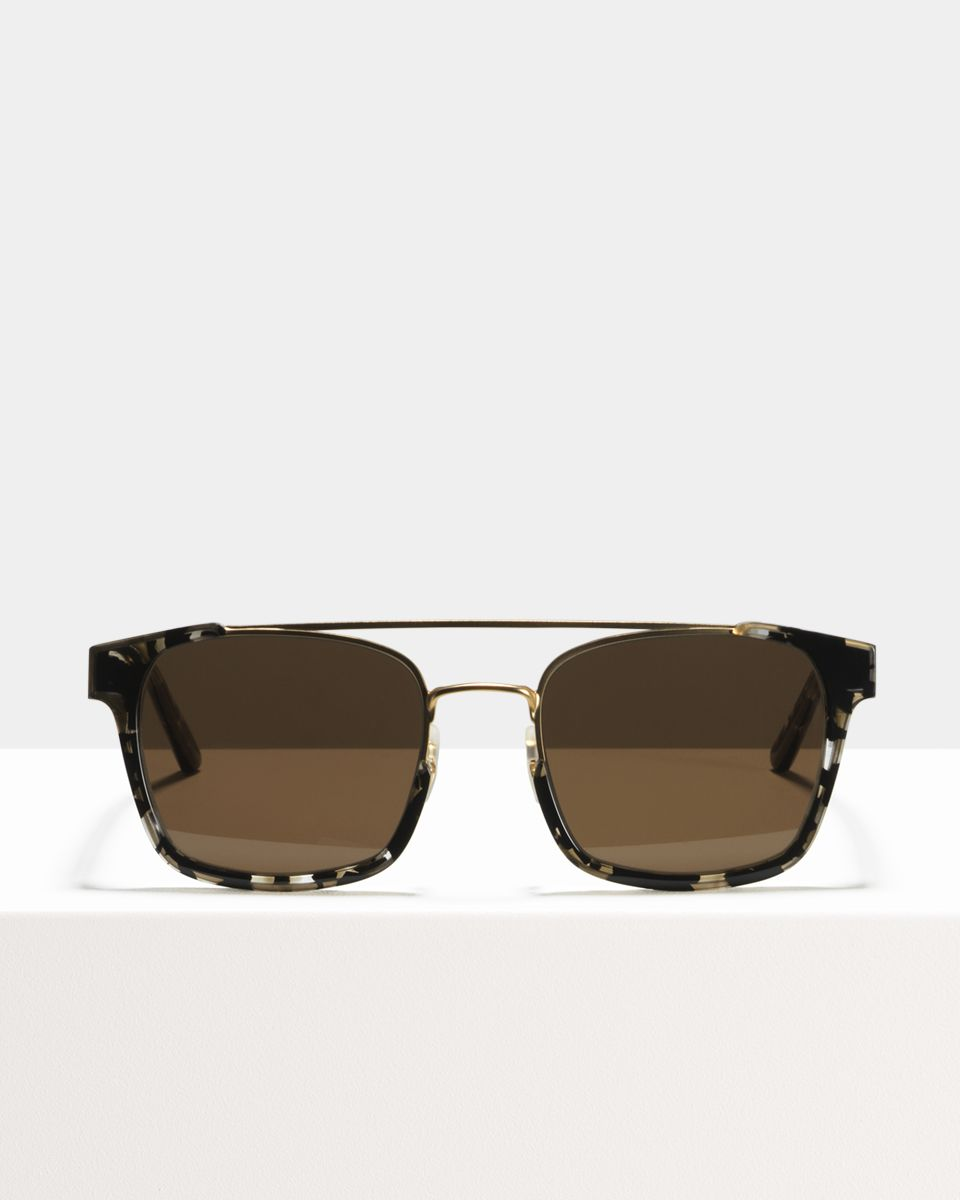 Conor square combi glasses in Shadow by Ace & Tate