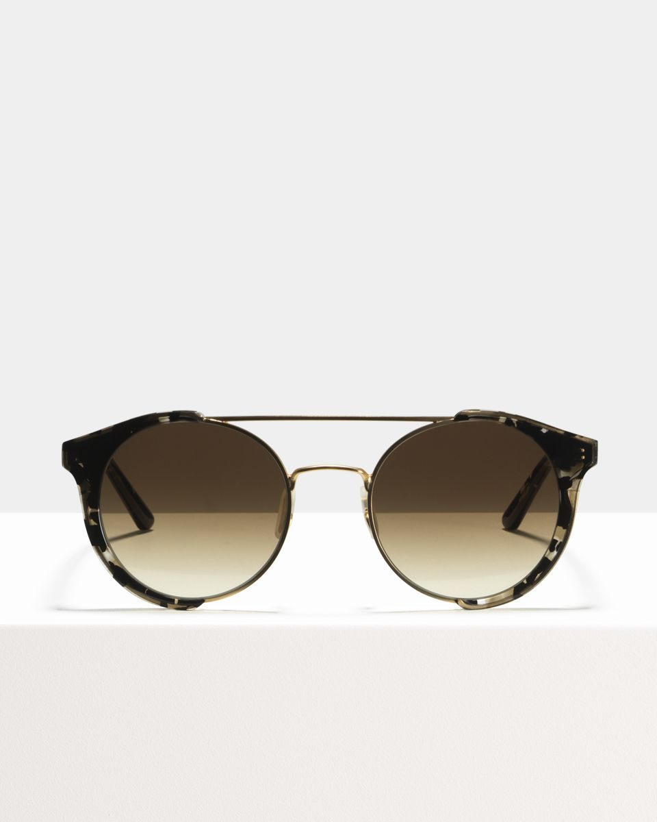 Smith ronde combinaison glasses in Shadow by Ace & Tate
