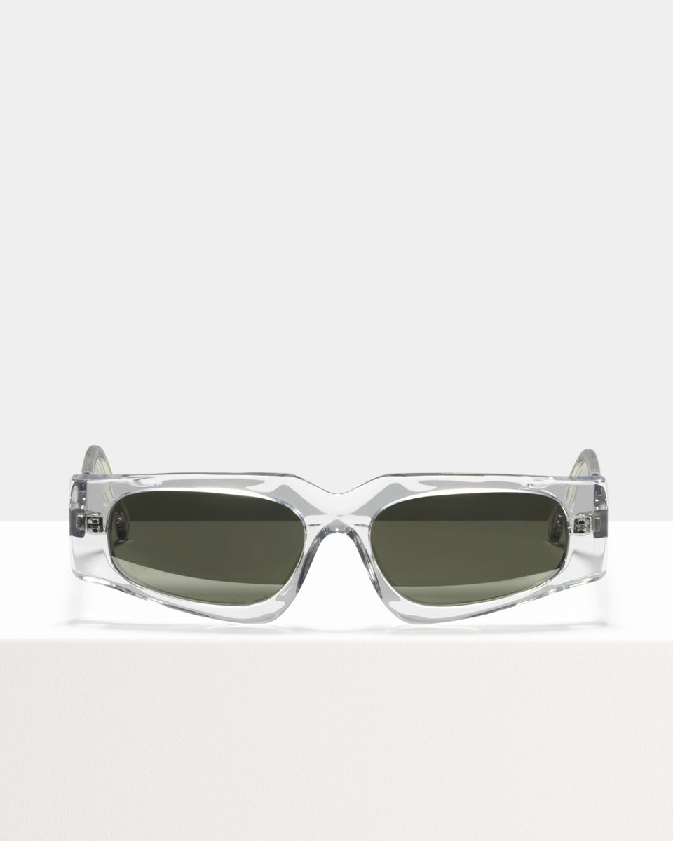 Ashley Hell Raiser rectangle acetate glasses in Beach Bum by Ace & Tate
