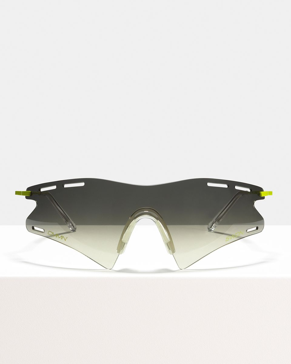 CMMN LeMond other metal glasses in Fog Black. by Ace & Tate