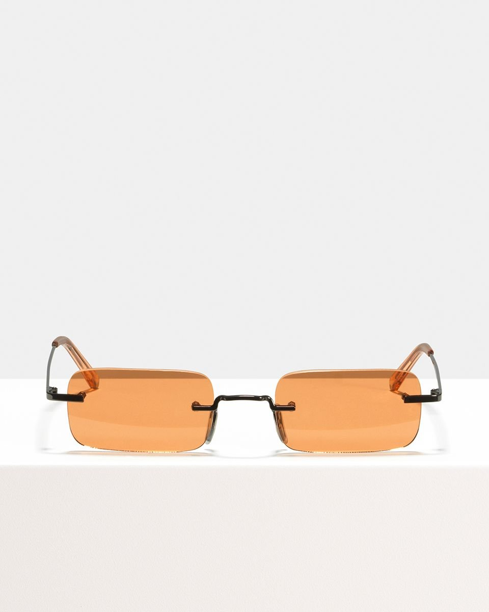 Justin Titanium titanium glasses in Sahara by Ace & Tate