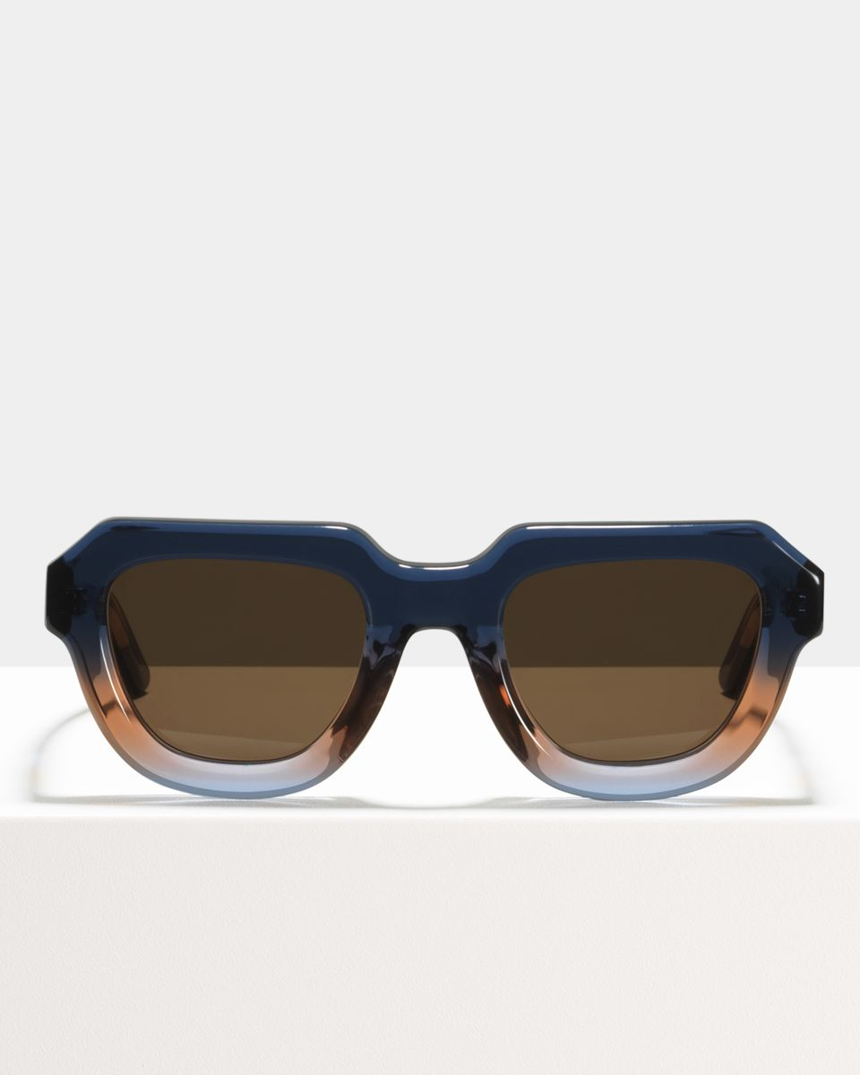 Blake ronde acétate glasses in Twilight by Ace & Tate