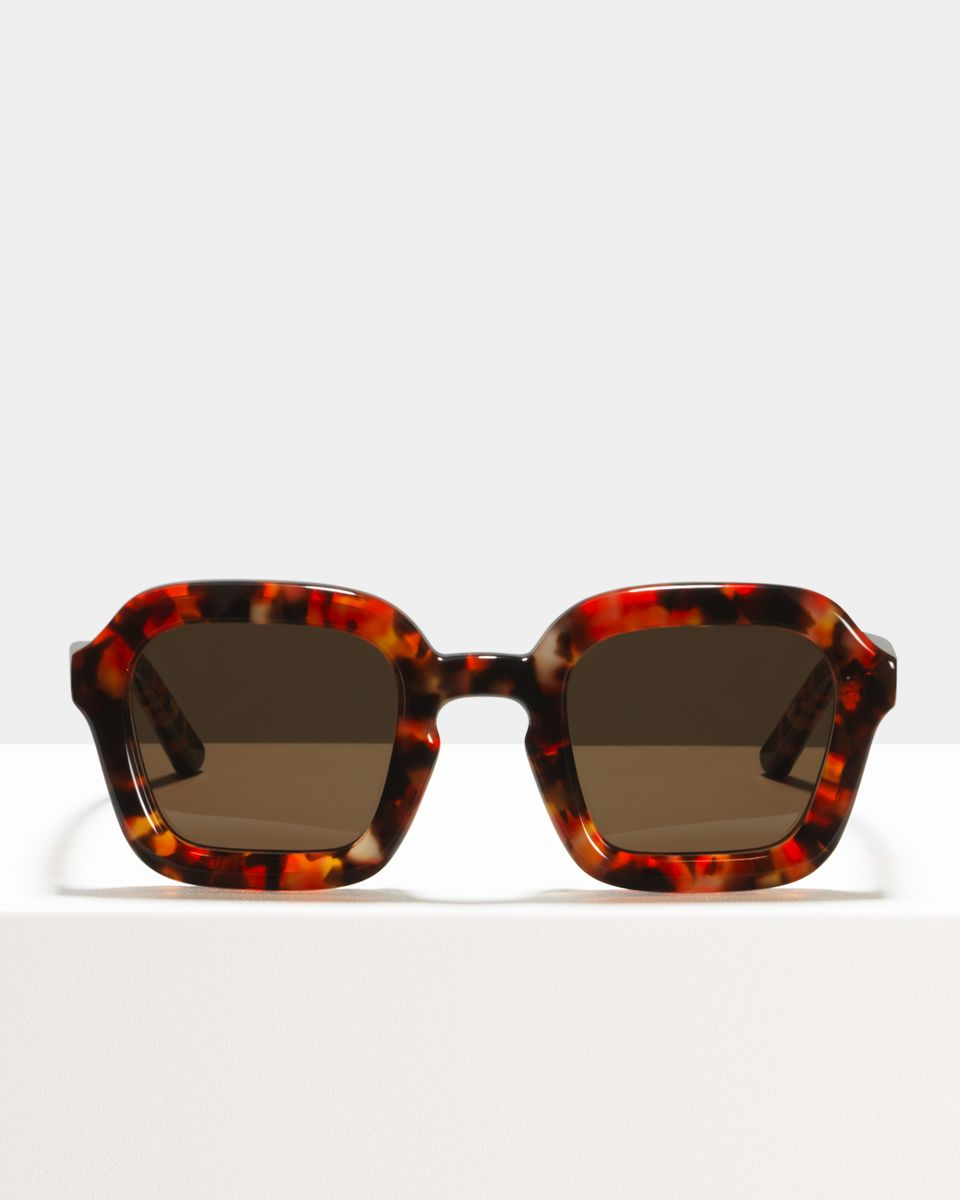 Andy acetate glasses in Red Cosmic by Ace & Tate