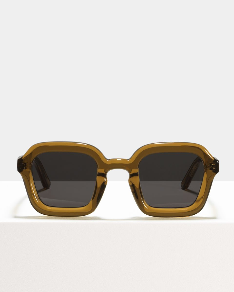 Andy quadratisch Acetat glasses in Maple Syrup by Ace & Tate