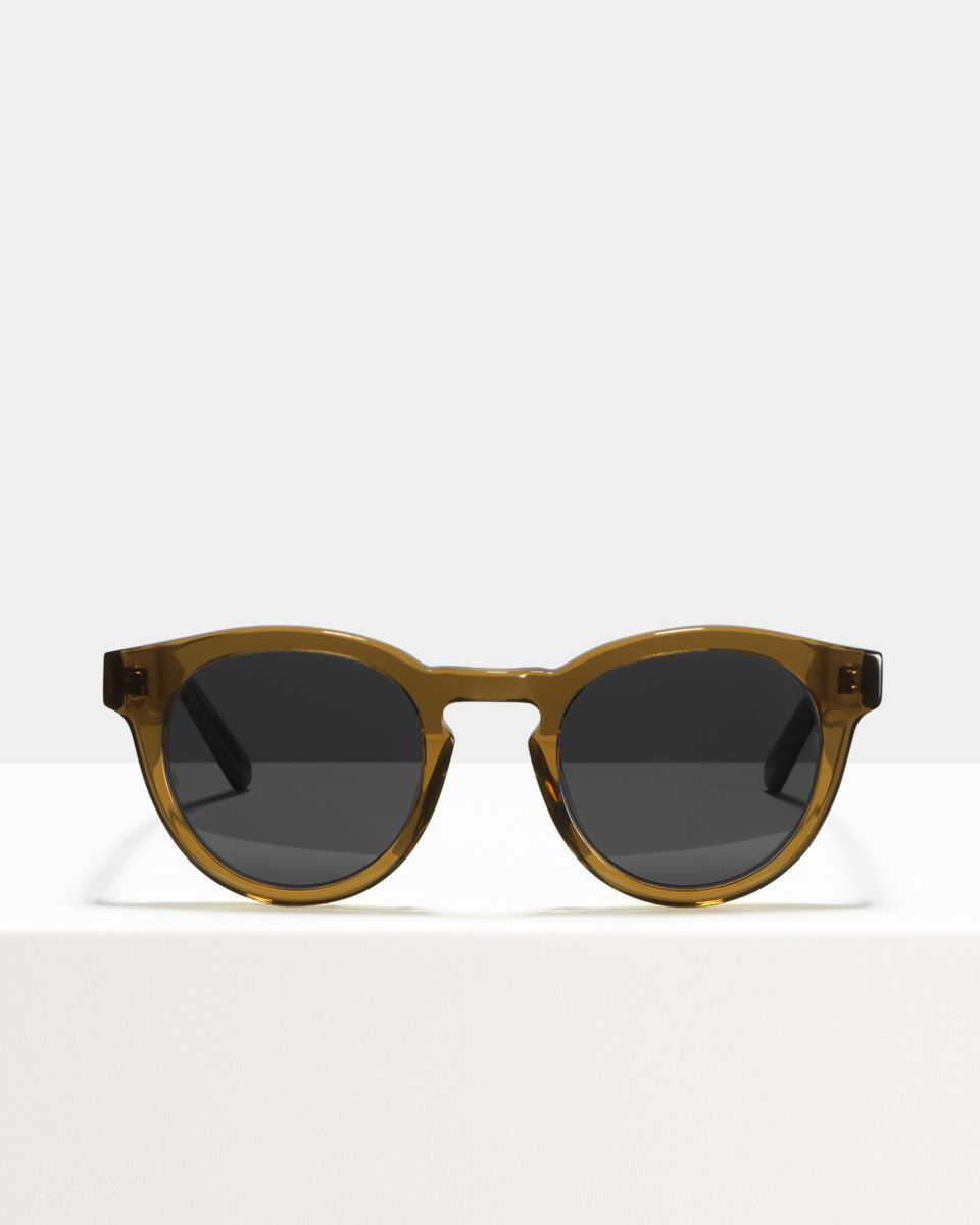 Byron acetaat glasses in Maple Syrup by Ace & Tate