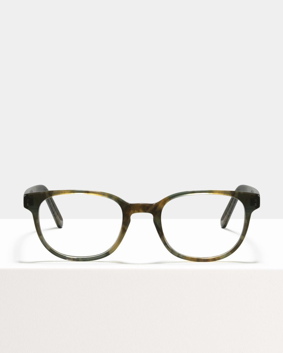Finn acetate glasses in Marbled Green by Ace & Tate