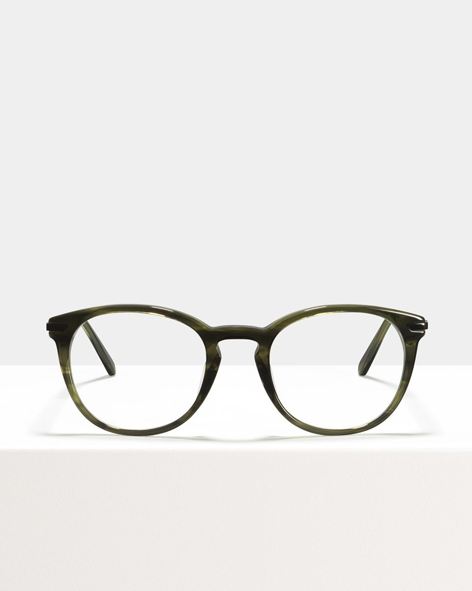Franck acetate glasses in Botanical Haze by Ace & Tate