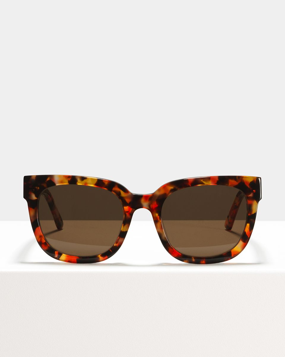 Kat acetate glasses in Red Cosmic by Ace & Tate