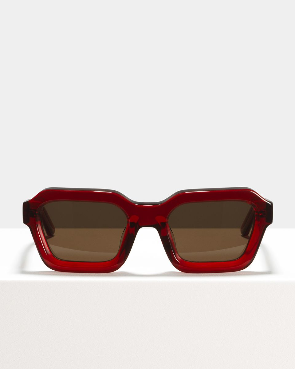 Morgan acetate glasses in Poppy by Ace & Tate