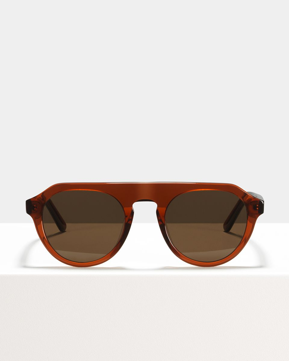 Rick acetaat glasses in Saffron by Ace & Tate