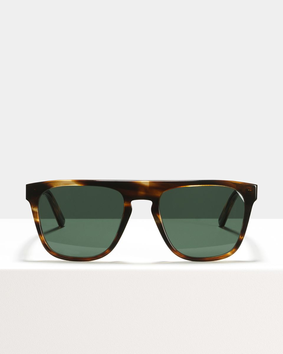 Roy acetate glasses in Tigerwood by Ace & Tate