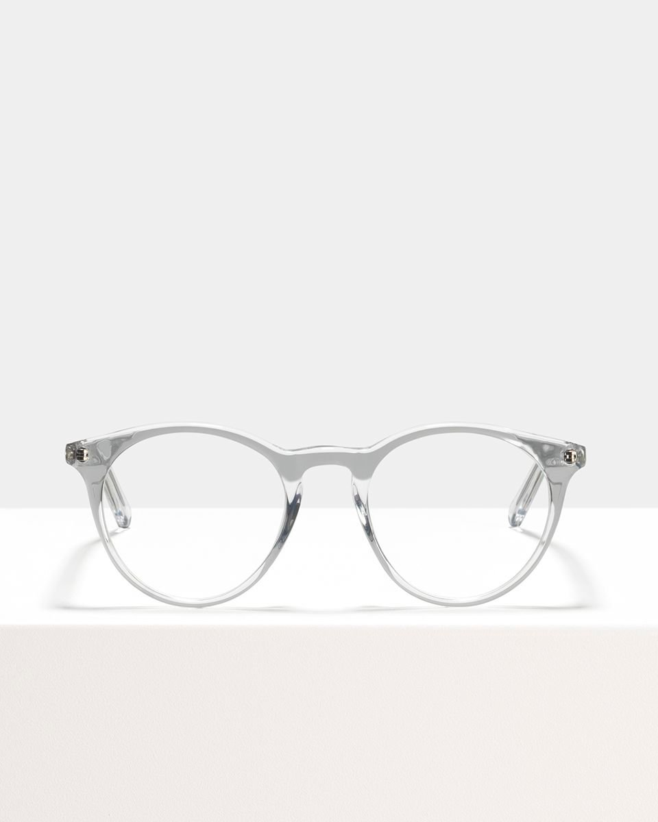 Easton acetato glasses in Crystal by Ace & Tate