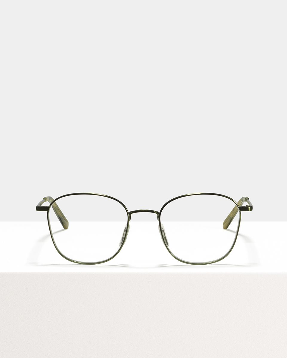 Jay metal glasses in Sage by Ace & Tate