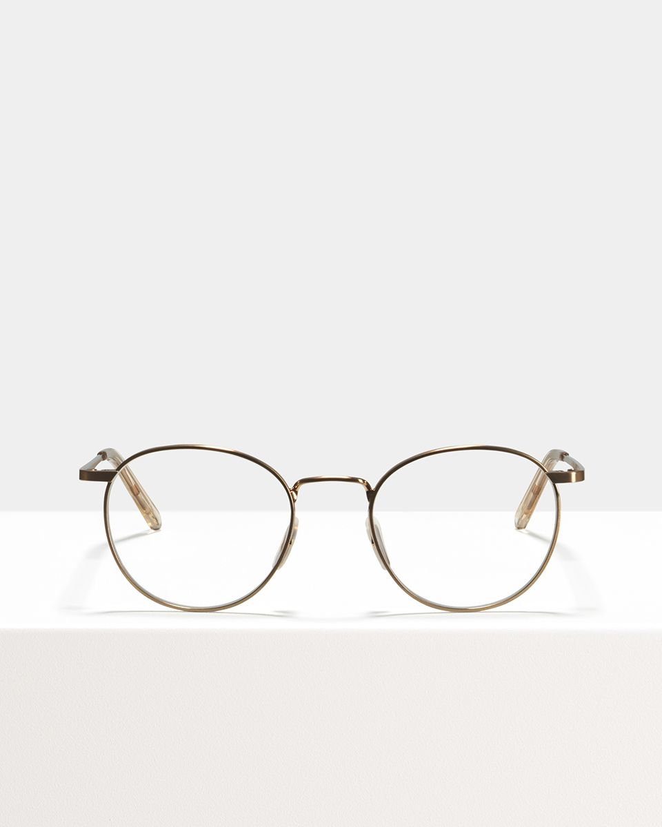 Neil métal glasses in Rose Gold by Ace & Tate