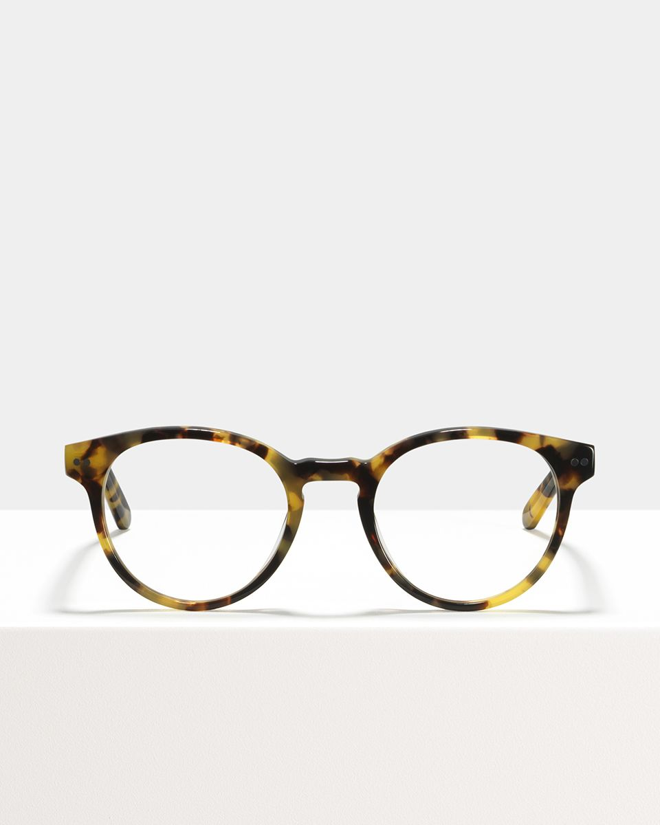 Pierce Large acetate glasses in Bananas by Ace & Tate