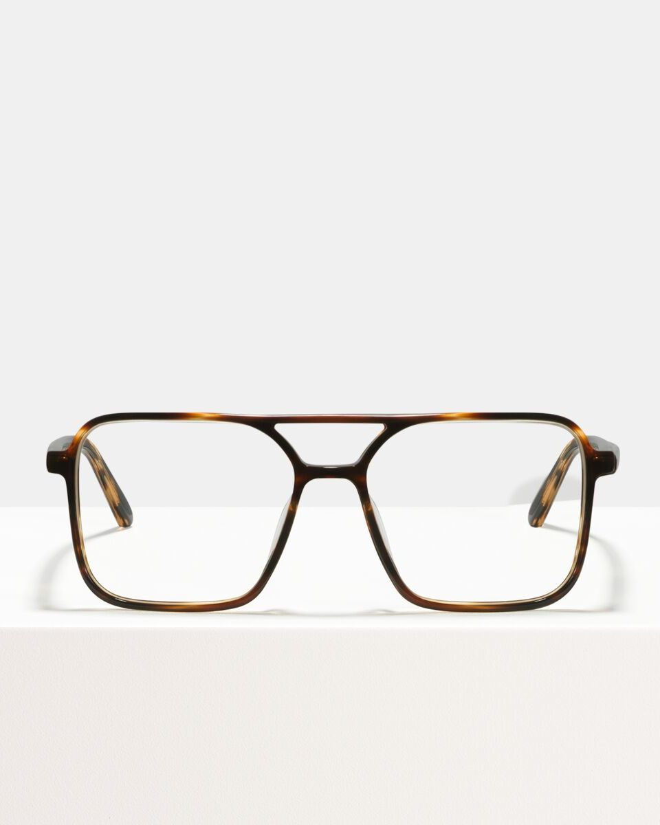 Carter bioacetaat glasses in Tigerwood by Ace & Tate