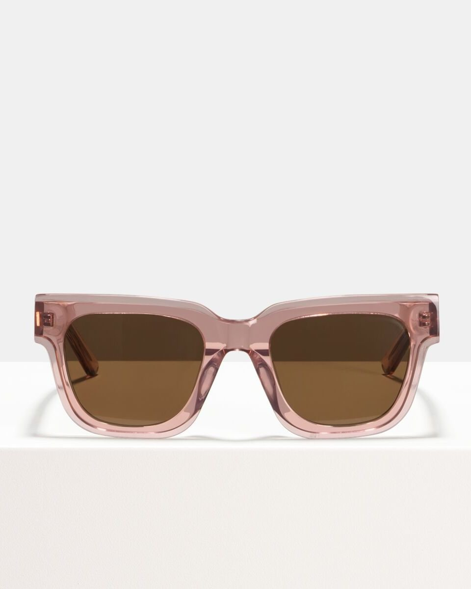 Allen acetate glasses in Blush by Ace & Tate