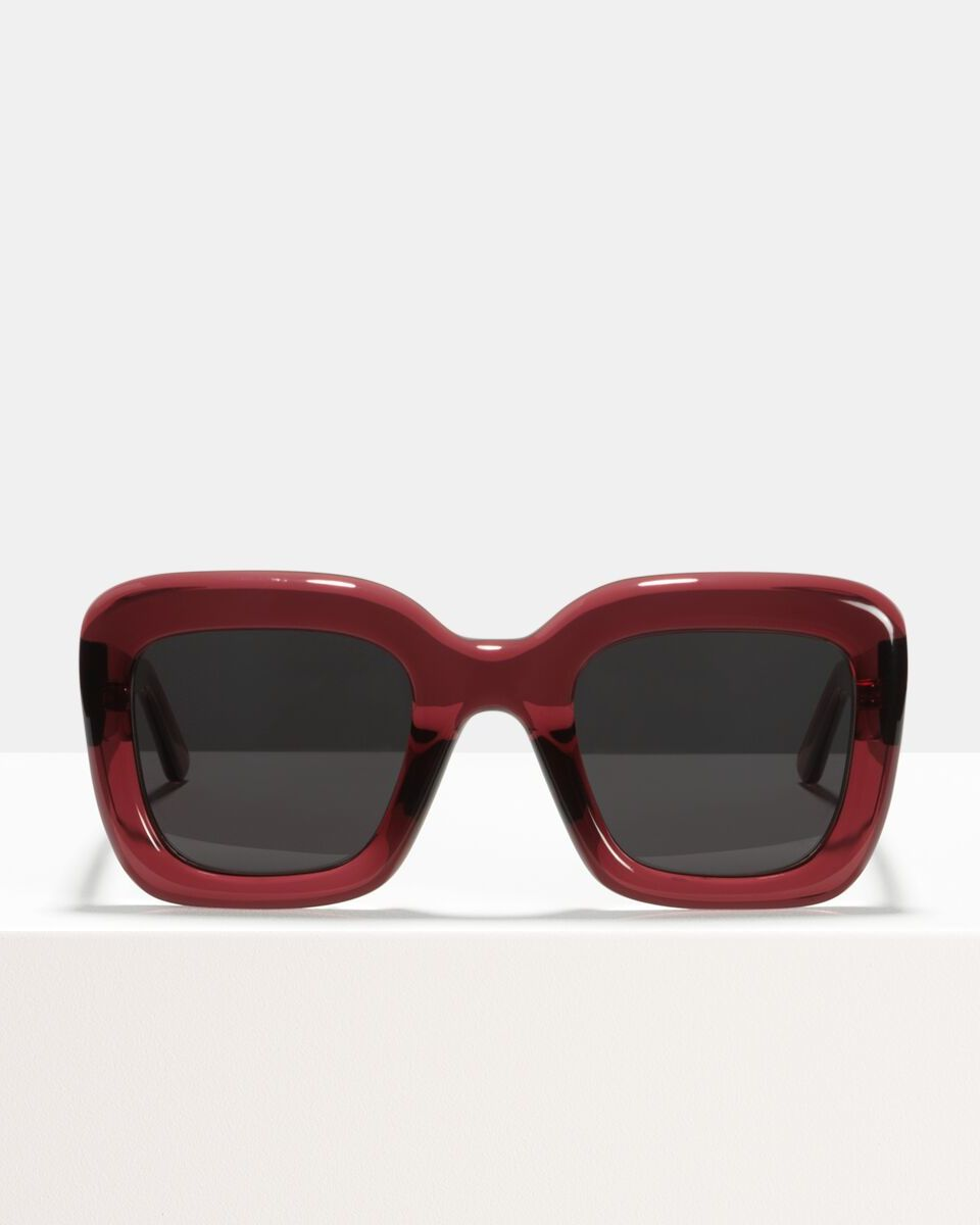 Brigitte acetate glasses in Red Velvet by Ace & Tate