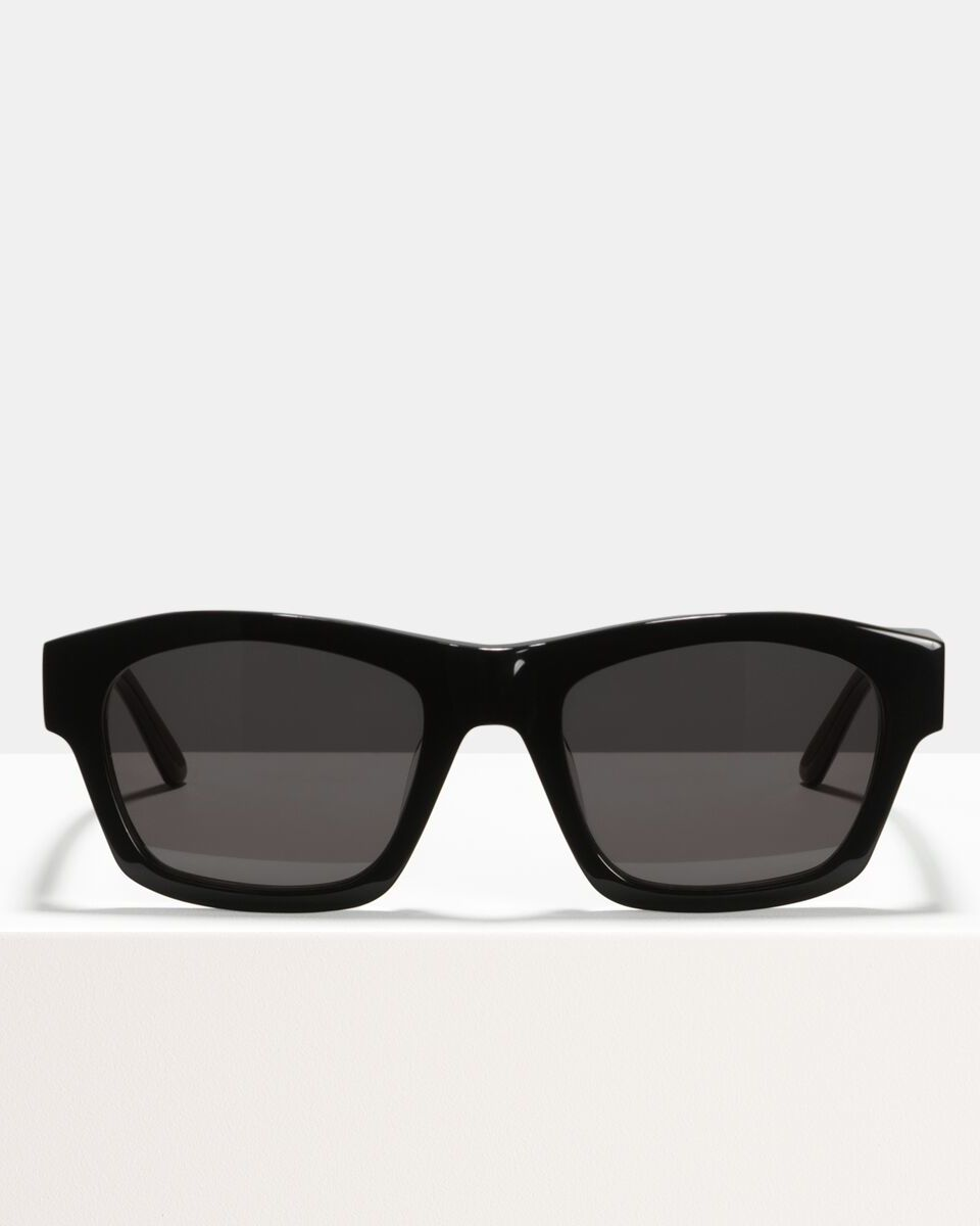 Leo acetate glasses in Bio Black by Ace & Tate
